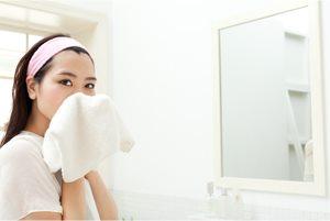 春の肌を守る! クレンジングと洗顔のポイント