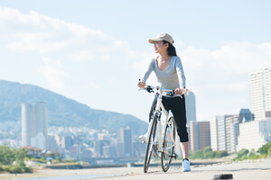 """""""痩せ効率""""アップ! 自転車ダイエットを成功させる4つのコツ"""